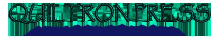 quiltron press header logo
