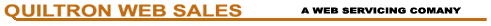 quiltron web sales logo